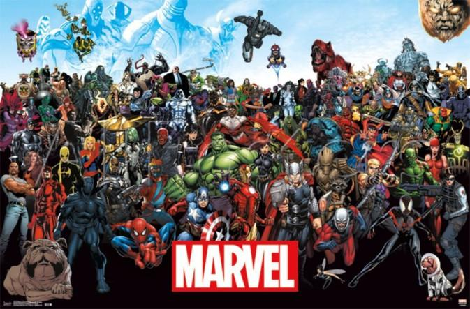 Top 5 Marvel superheros of all time