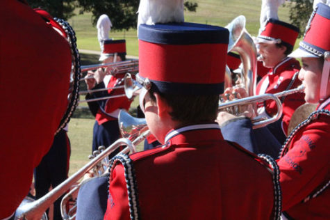 Band attends area competition