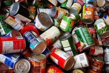 Canned food drive competition set for December