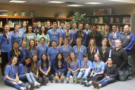 UIL Academics Win Hallsville Sweepstakes