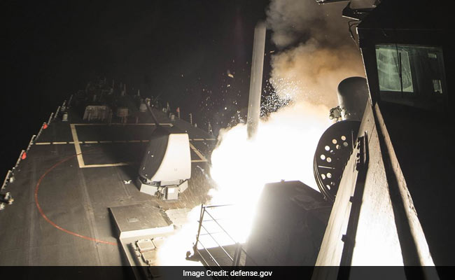 Missiles fired on Syria