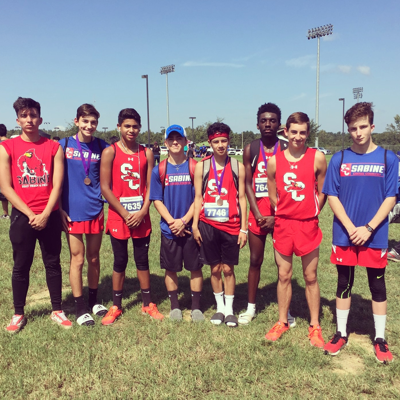 Team places second at Hallsville meet.