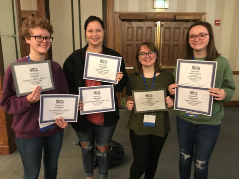 Cardinal yearbook staff wins state awards