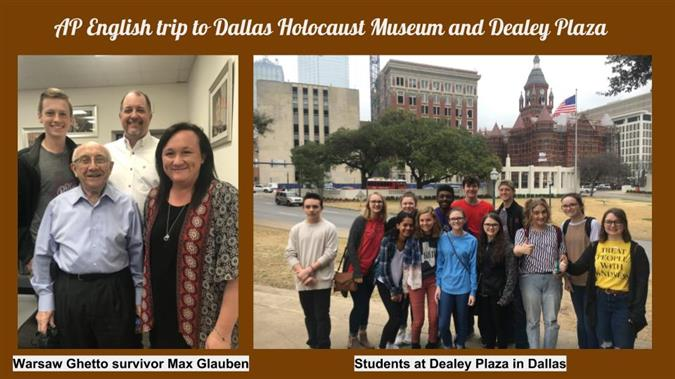 Trip to the Dallas Holocaust Museum