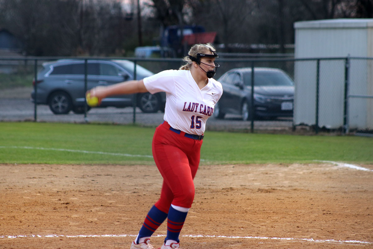 Freshman Cali Sparks was chosen as a Longview News-Journal Hitter of the Week for the week of March 4.