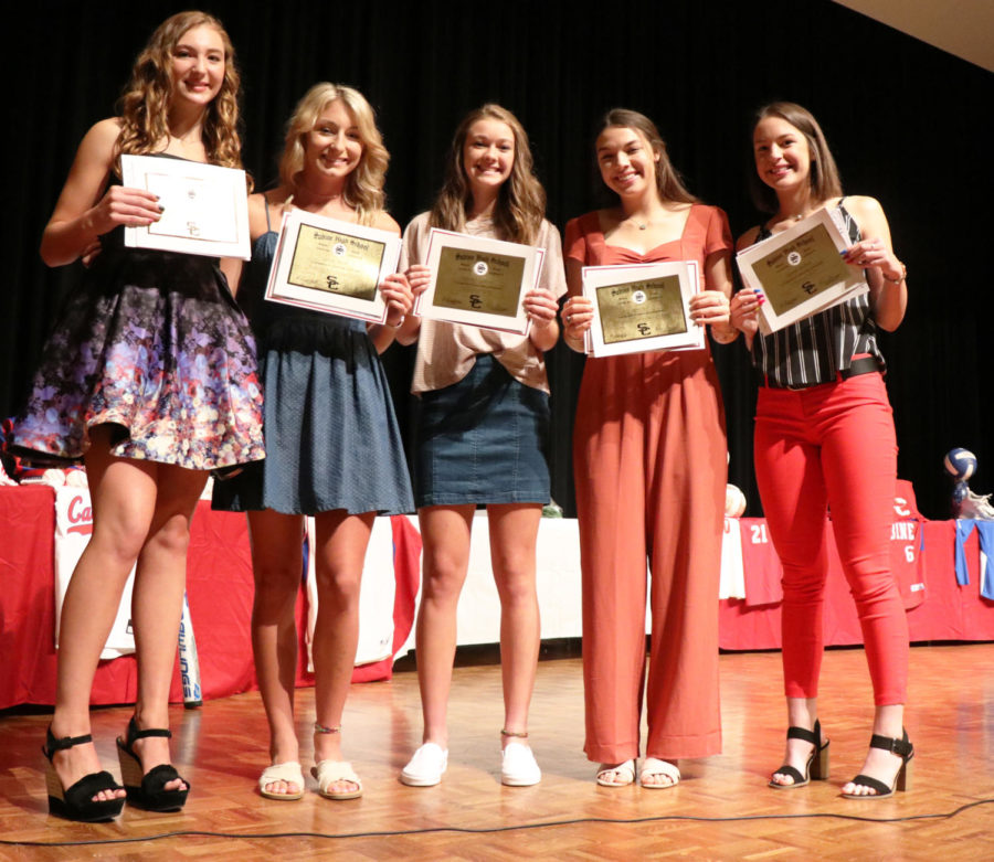 Sabine Volleyball Performers of the Year