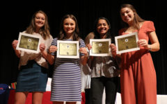 Girls' track awards