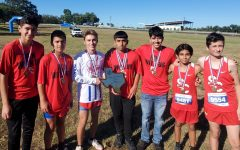 Navigation to Story: Cross country teams win district, compete in Lindale meet