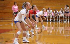Navigation to Story: Volleyball team plays White Oak, Ore City in district
